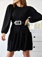XHAN Elbise Siyah